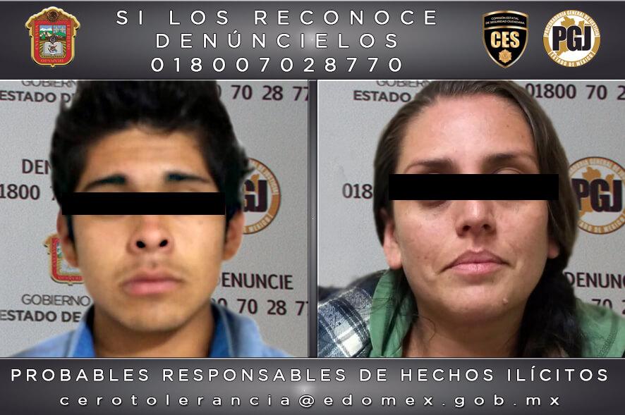 Procesan a pareja de presuntos homicidas