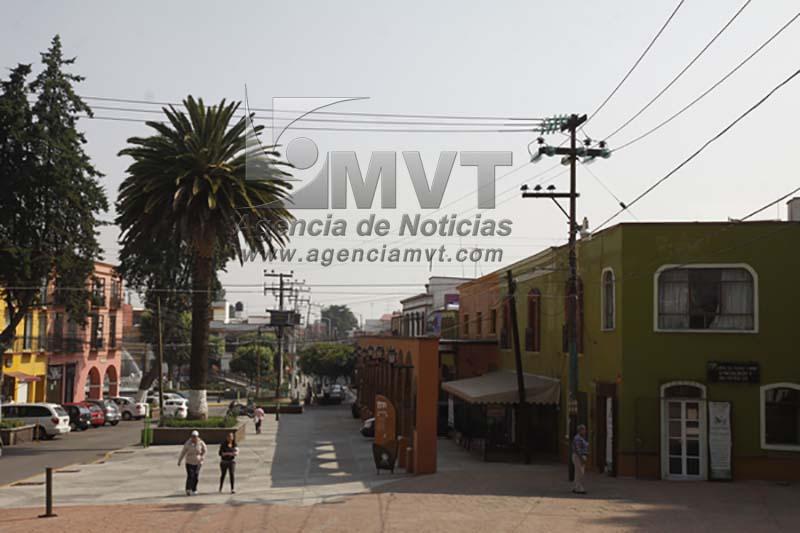 Heredan última etapa de cableado subterráneo en Metepec