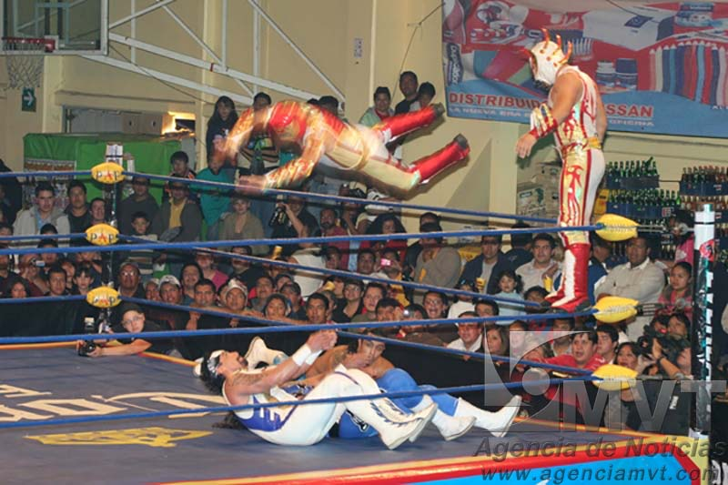 Regresarán funciones de Lucha Libre al Agustín Millán