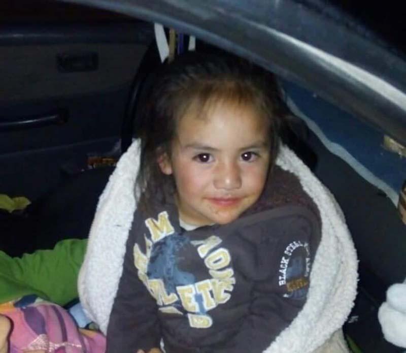 Encuentran niña abandonada esta madrugada en Metepec