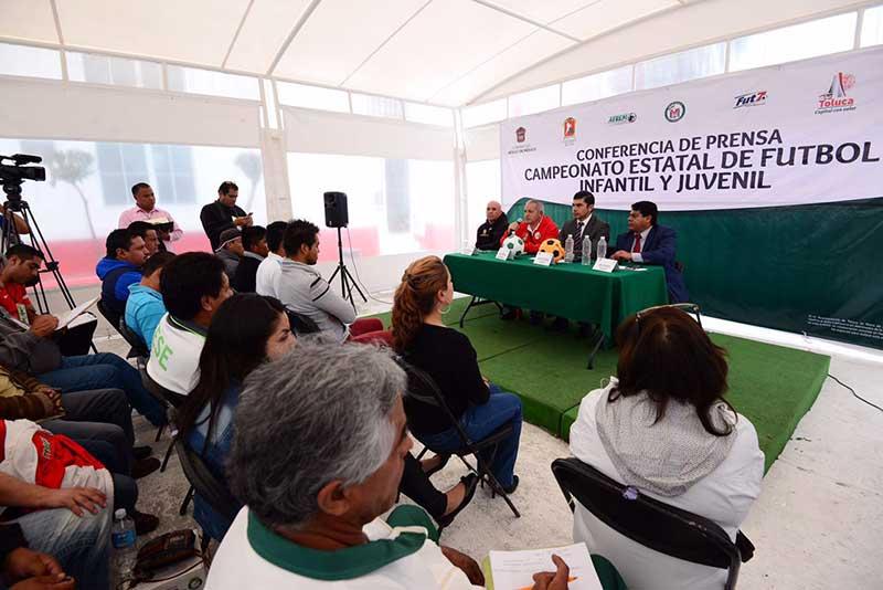 Mexiquenses competirán en Torneo de Futbol 7