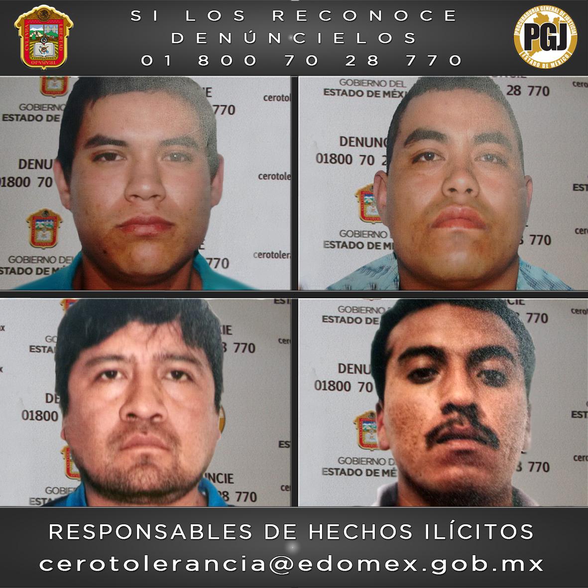 Pasarán 60 años en prisión secuestradores de ex presidente municipal de Amanalco