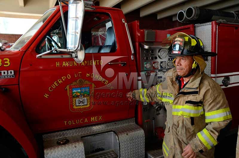 Ser bombero no es fácil, hay que amar esa labor