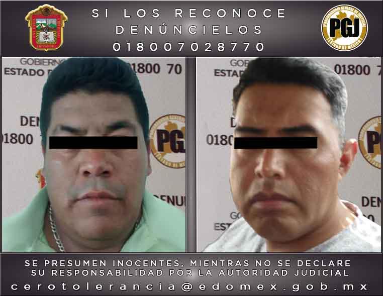 Vinculan a proceso a dos presuntos homicidas de Texcoco