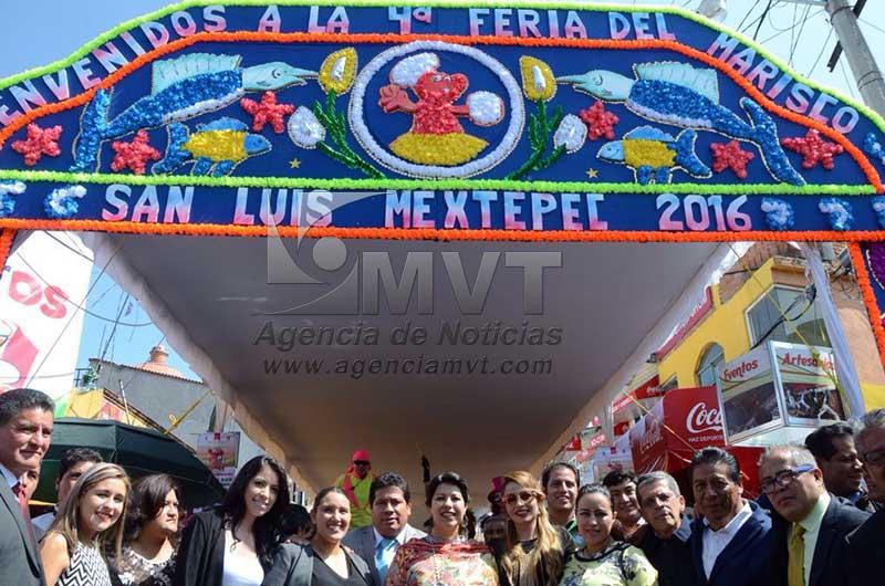 Inaugura Zinacantepec Feria del Pescado y Marisco 2016