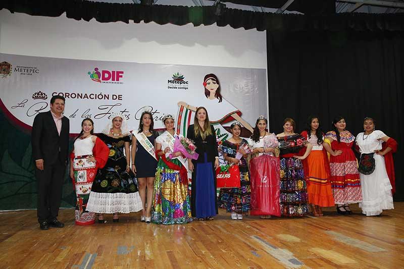 Elige Metepec Reina de la Fiestas Patrias