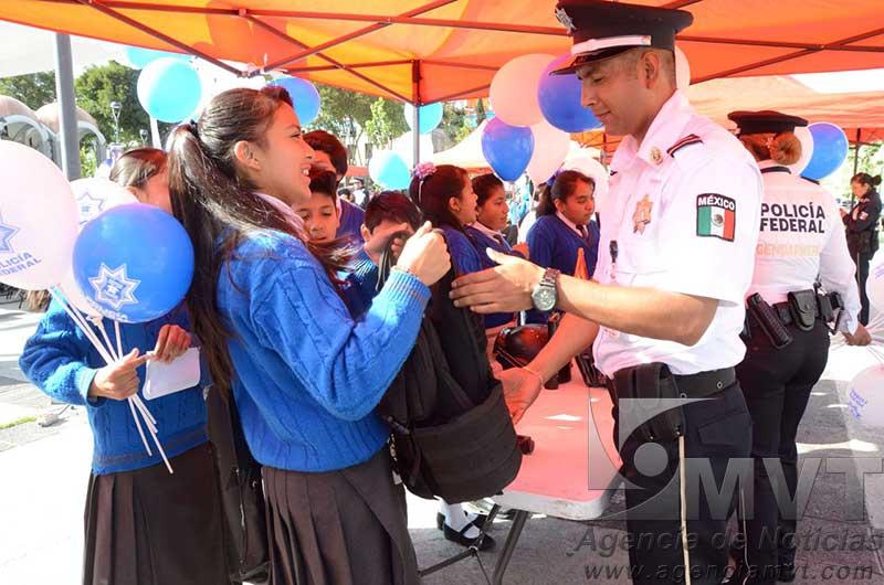 Exhibe Policía Federal su capacidad de operación en Edomex