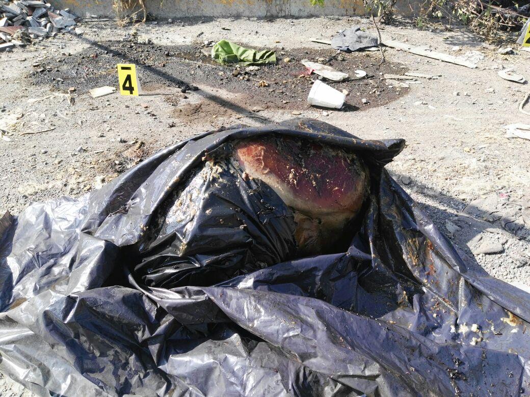 Localizan restos humanos en bolsas de plástico en el Periférico
