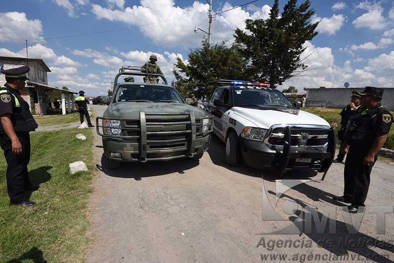 Dos muertos y dos lesionados en enfrentamiento en Almoloya de Juárez