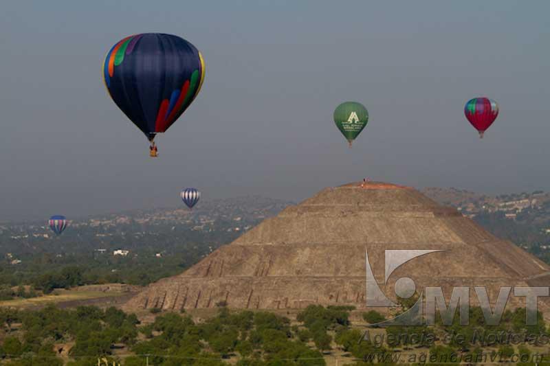 Inicia este sábado el Globos Balloon Fest Teotihuacán 2016
