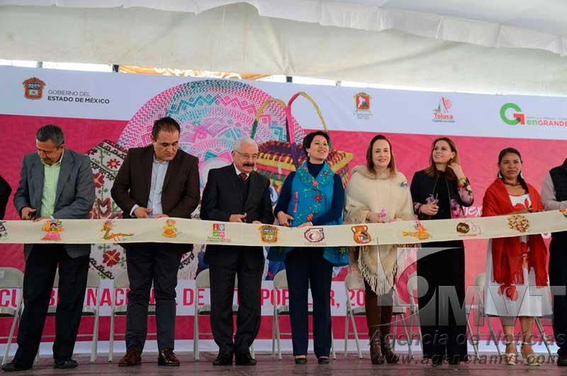 Abre la Cumbre Nacional de Arte Popular en Toluca