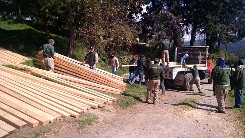 Legislatura pide a Semarnat una veda forestal temporal en el Edoméx
