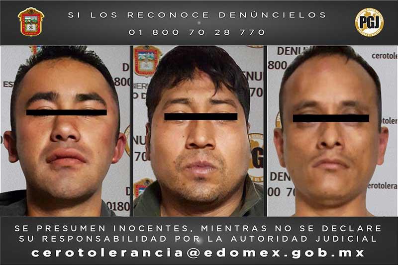 Liberan secuestrado en Chalco y capturan a tres presuntos responsables