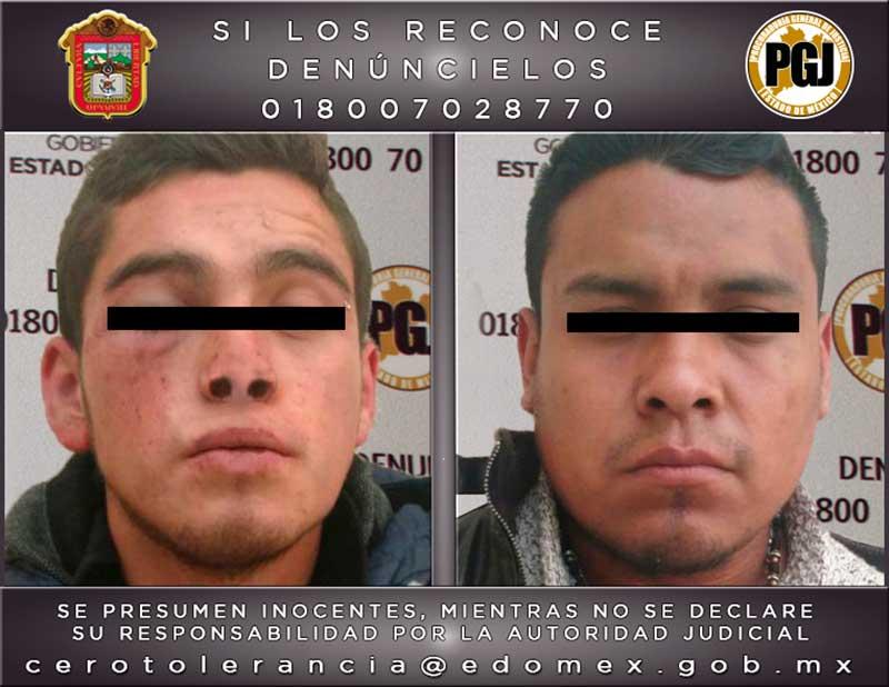 Neutralizan a dos que robaban en transporte público de Nicolás Romero