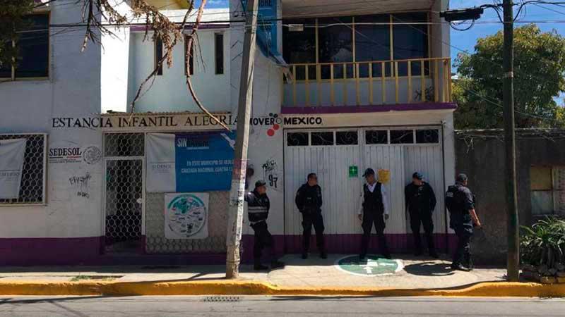 Muere niño ahogado en estancia de la SEDESOL en Nezahualcóyotl