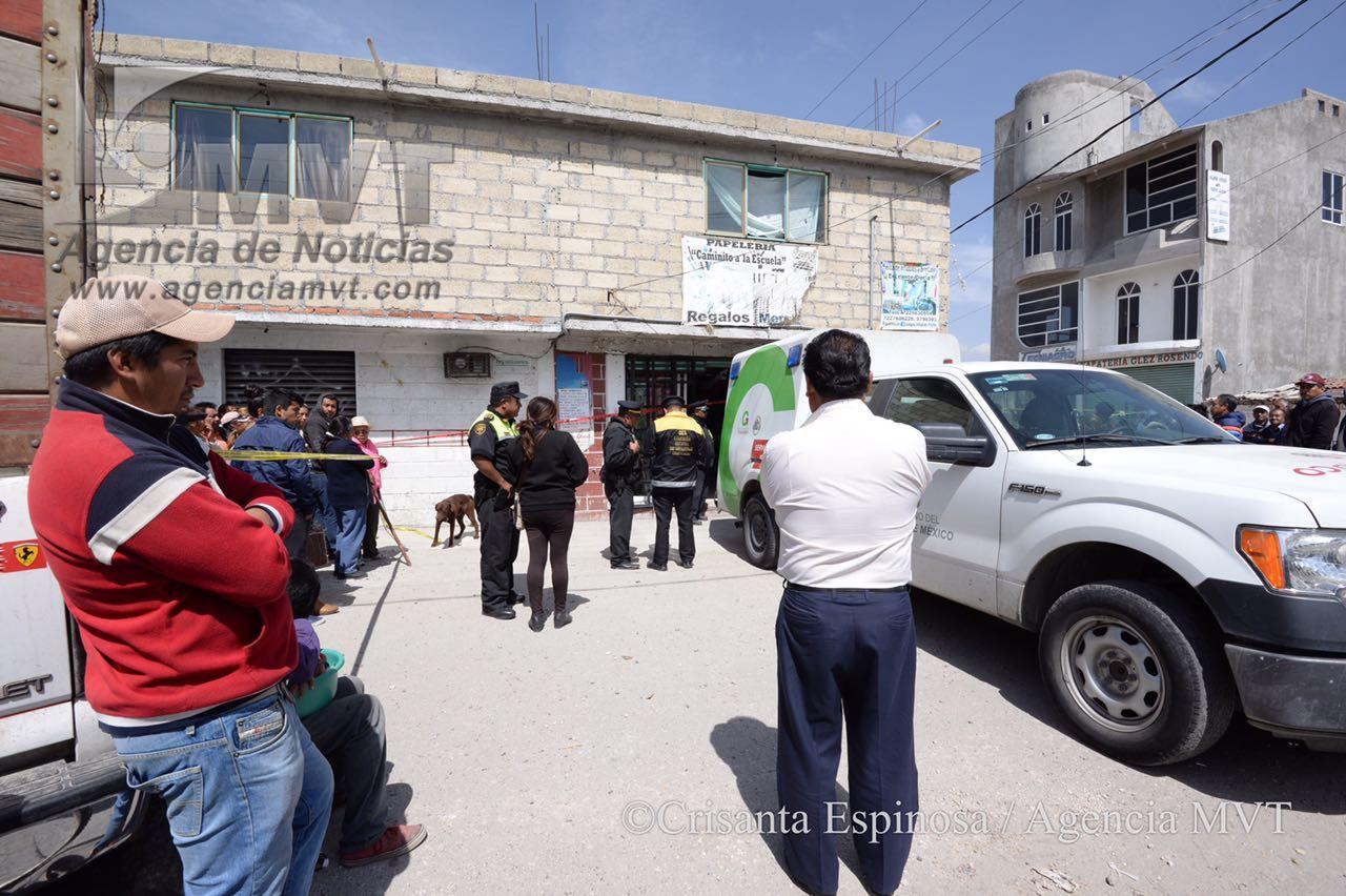 Podría ser venganza asesinato en papelería de la Constitución Totoltepec