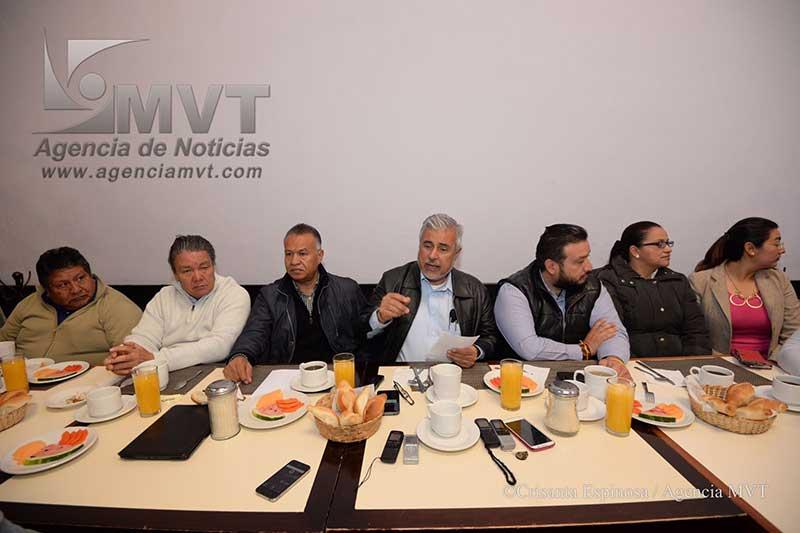 Llaman perredistas a PT, MC y Morena a reagruparse en torno a Juan Zepeda