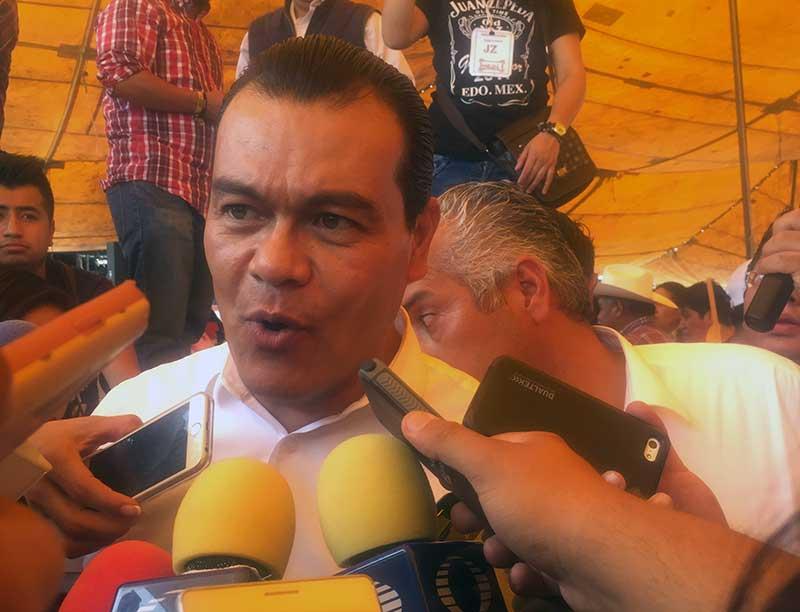 Diputado del PT, Oscar Vergara, apoyará al PRD