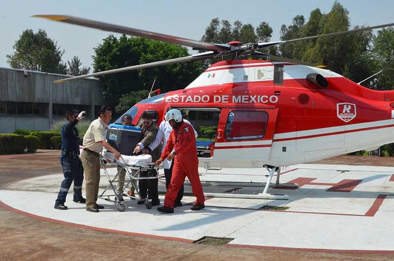 Donan hígado de niño mexiquense para trasplante