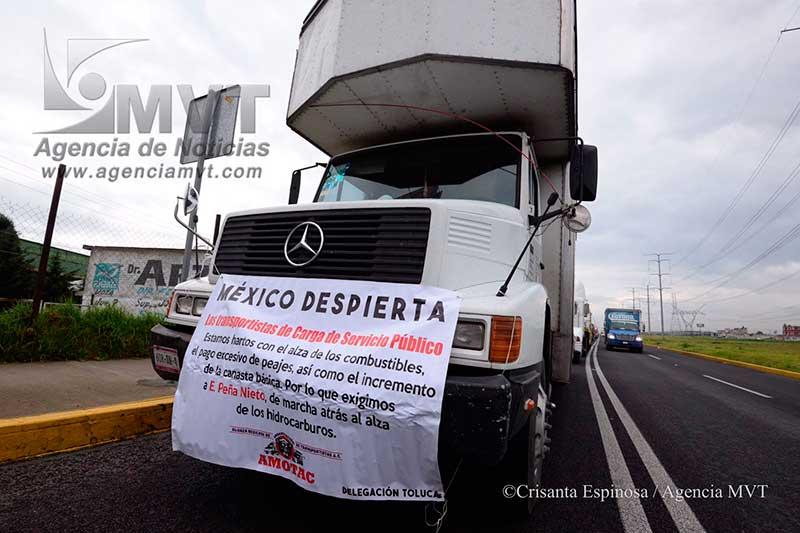 El transporte de carga está en crisis, denuncia AMOTAC
