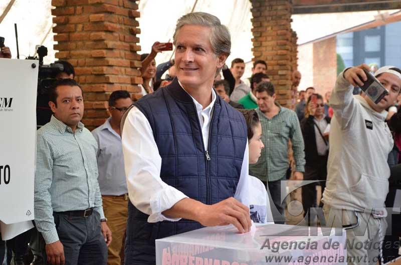 Desea Del Mazo jornada electoral libre y democrática
