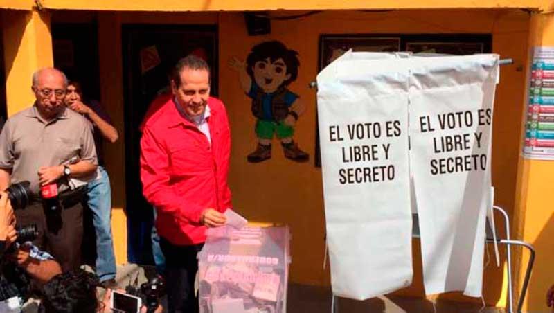 Respeto absoluta a resultados electorales: Eruviel