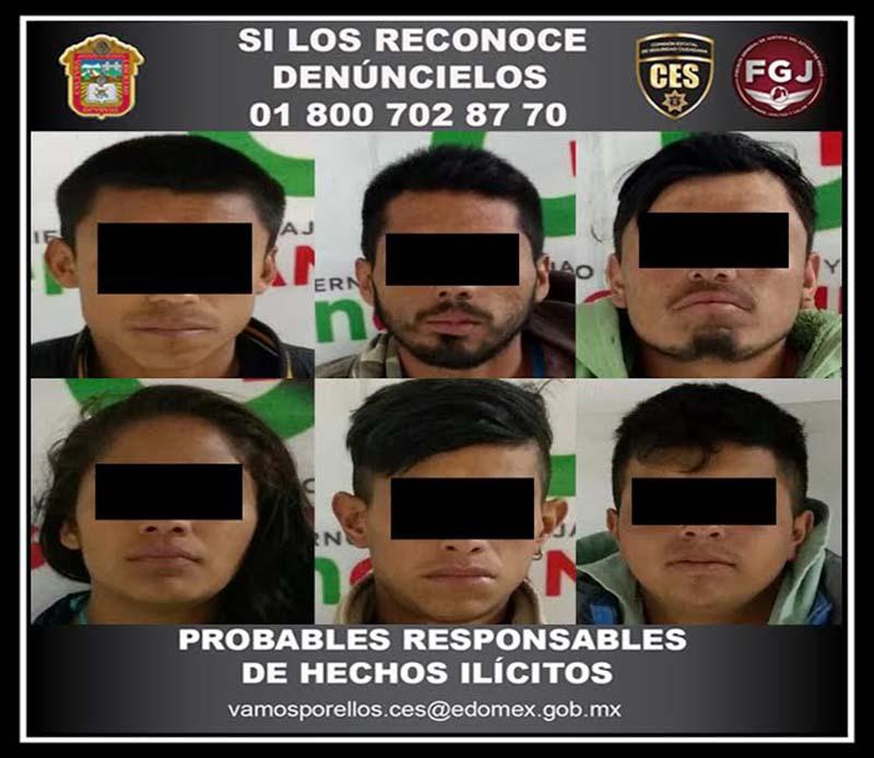 RECUPERA CES UN CAMIÓN CON MERCANCÍA Y DETIENE A SEIS PRESUNTOS IMPLICADOS