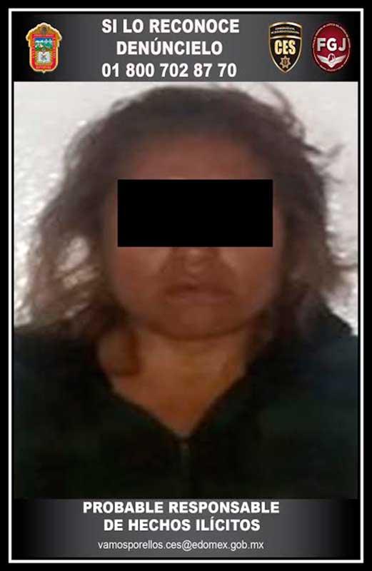 Capturan policías estatales mujer que presuntamente quiso robarse un niño en Toluca