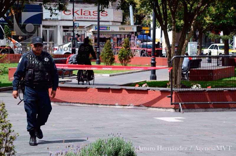 Mantienen operativo en parque Simón Bolívar para evitar comercio irregular