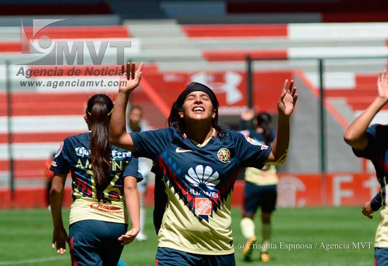 América vence al Toluca 2-1 en la Liga Femenil MX
