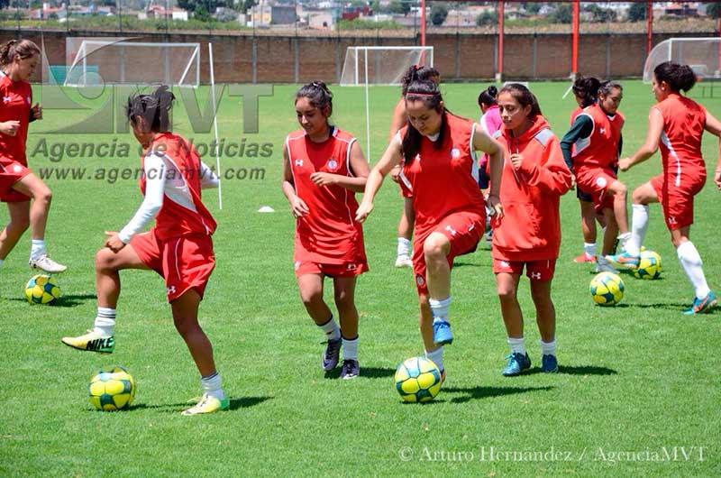 Alistan armas las Diablitas de Toluca para visitar a Pumas de la UNAM