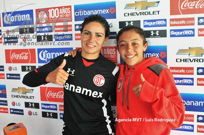 """Regresan al estadio Nemesio Diez las """"diablitas"""" de Toluca"""