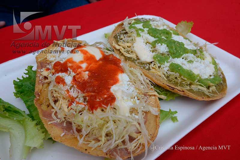 Ahora habrá Feria de Antojitos Mexicanos en plaza gastronómica Carlos Amador