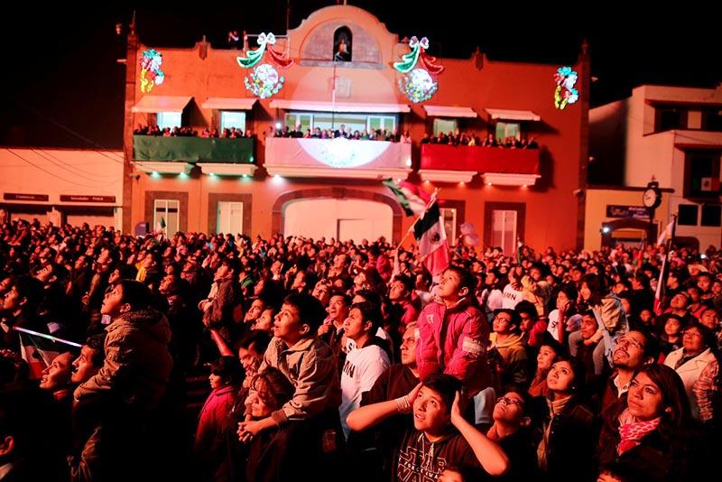 Metepec contará con más de 380 elementos de seguridad durante el grito de independencia