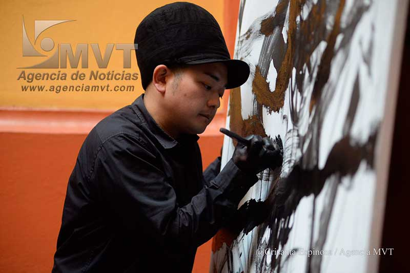 Muestra Keisuke su poder artístico en vivo en Toluca