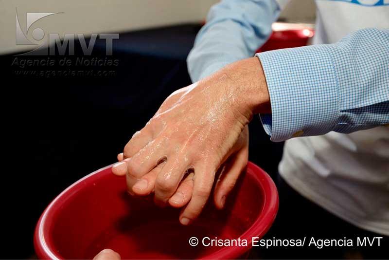 Mueren en el mundo 1.4 millones de niños por no lavarse las manos correctamente