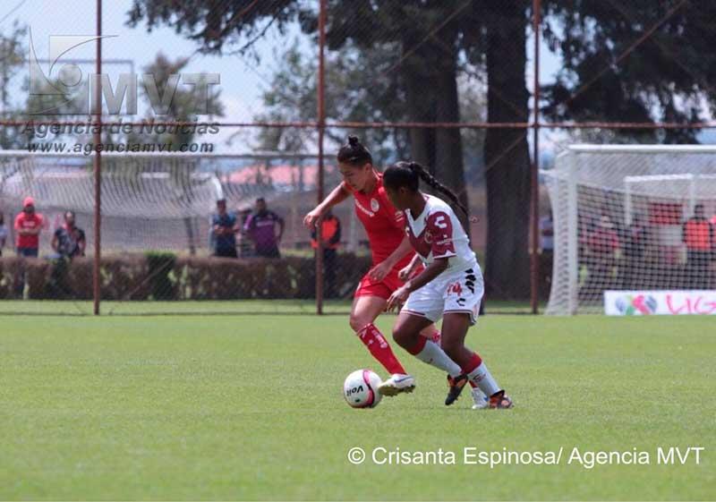 Toluca femenil derrota 3-0 a Veracruz