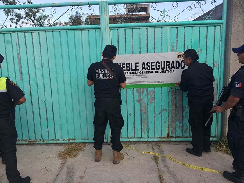 Catean inmueble en Teoloyucan y recuperan dos vehículos reportados