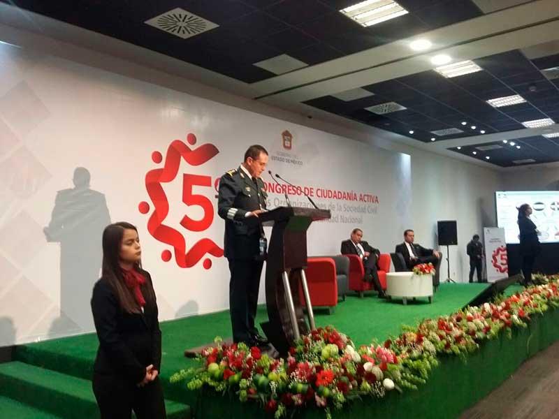 Trabajo conjunto entre Ejército y sociedad civil ha permitido a México superar las mayores contingencias: SEDENA