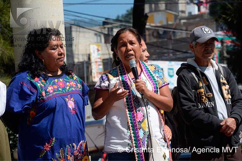 Llama candidata indígena a defender la riqueza nacional de políticos y tecnócratas