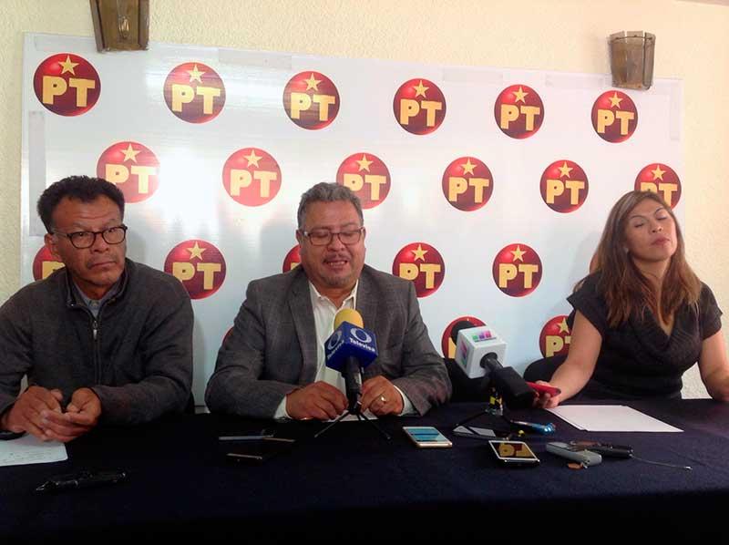 Concretan alianza PT-Morena el 4 de diciembre