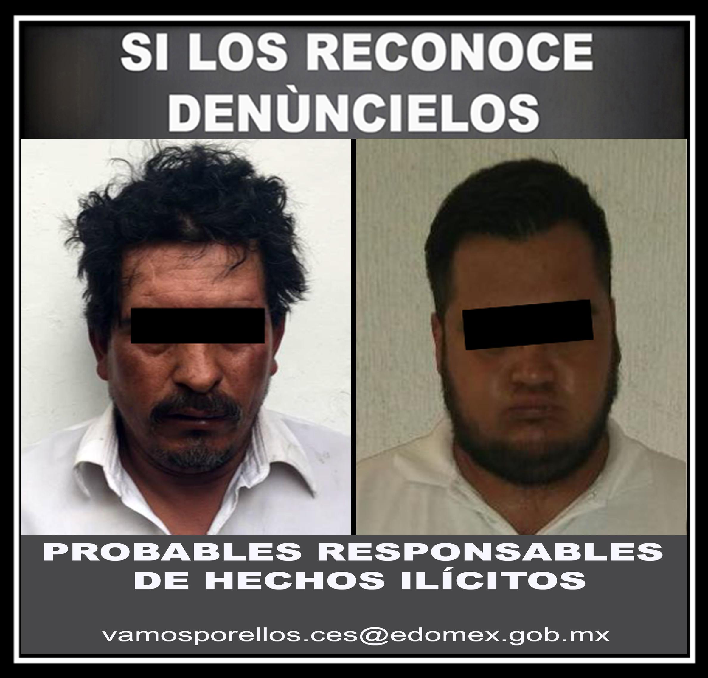 Detienen sobre carretera Toluca-Ciudad Altamirano a dos presuntos narcomenudistas