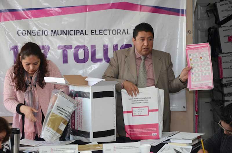 Registran ocho impugnaciones por vocales electorales vinculados con partidos políticos