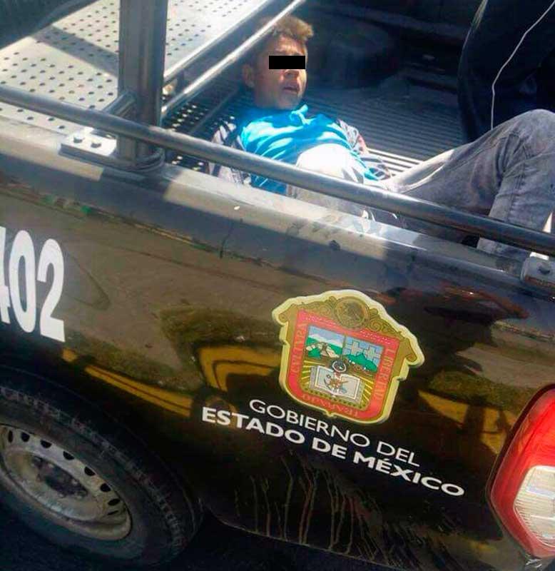 Frustrado ladrón de autos casi termina linchado en Ecatepec