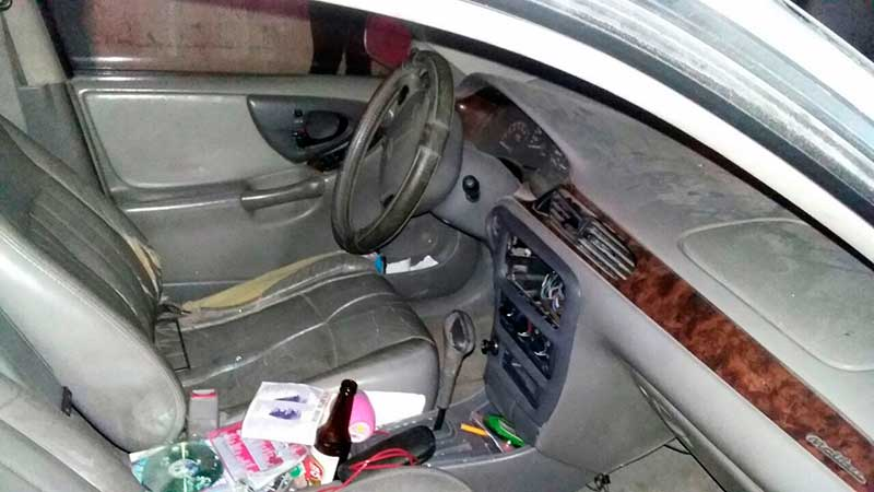 Neutralizan banda dedicada a robar al interior de vehículos mientras propietarios asistían a fiestas
