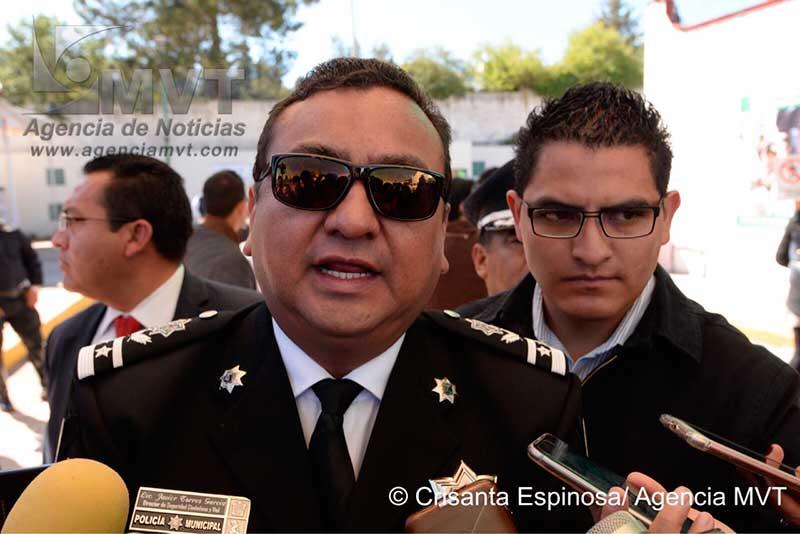 Promete policía de Toluca respuesta en 5 minutos