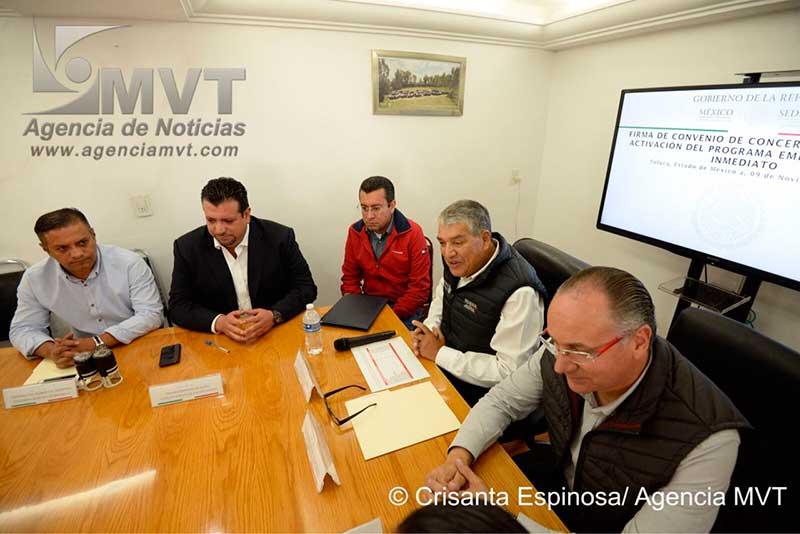 Empleo temporal a municipios afectados por sismo