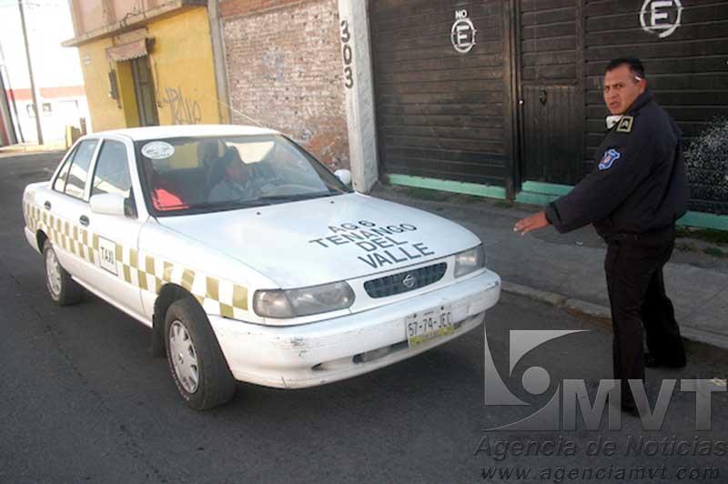 Demanda CODHEM esquema de taxi seguro para evitar más muertes