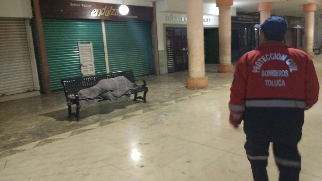 "Listo en Toluca operativo invernal ""Saturno"""