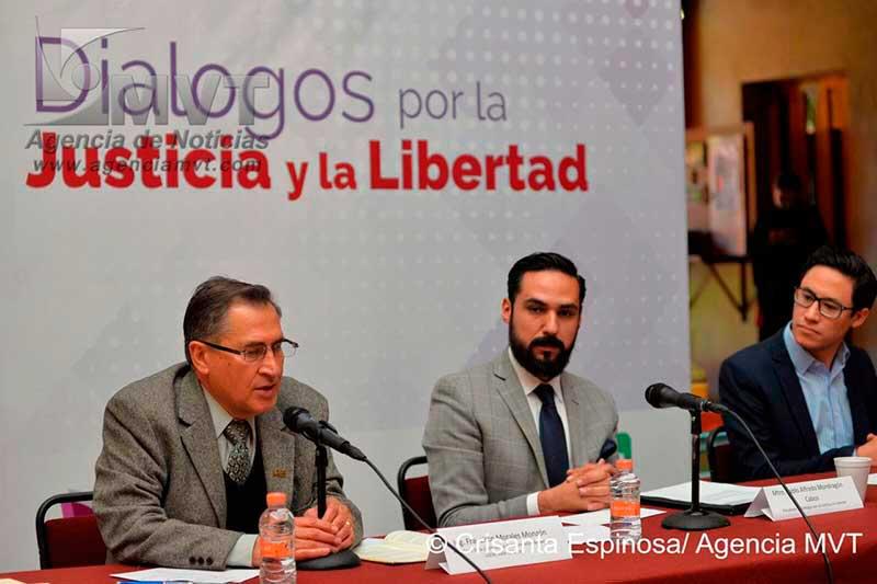Convocan empresarios y abogados a dialogar sobre justicia y libertad